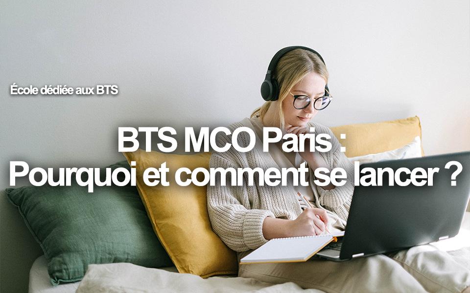 BTS MCO Paris