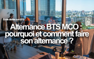 alternance BTS MCO